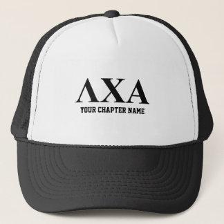 Lambda Chi Alpha Letters Trucker Hat