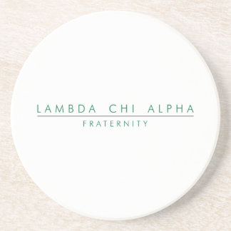 Lambda Chi Alpha Lock Up Coaster