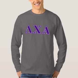 Lambda Chi Alpha Purple Letters T-Shirt