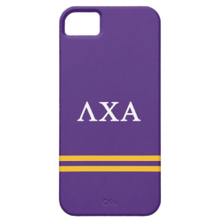 Lambda Chi Alpha | Sport Stripe Case For The iPhone 5