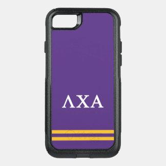 Lambda Chi Alpha | Sport Stripe OtterBox Commuter iPhone 8/7 Case