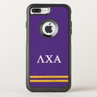 Lambda Chi Alpha | Sport Stripe OtterBox Commuter iPhone 8 Plus/7 Plus Case