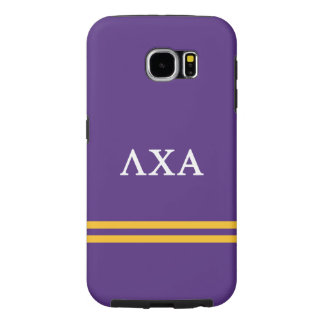 Lambda Chi Alpha | Sport Stripe Samsung Galaxy S6 Cases
