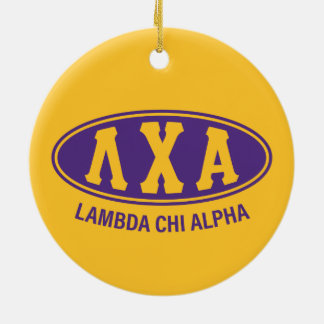 Lambda Chi Alpha | Vintage Christmas Ornament