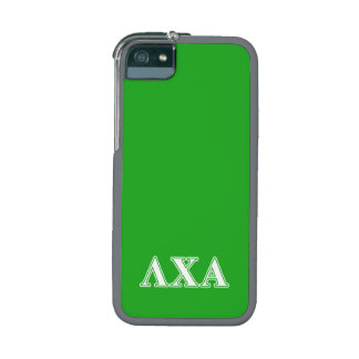 Lambda Chi Alpha White an Green Letters iPhone 5/5S Case