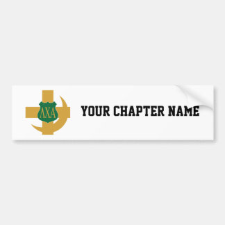 Lambda Chi Friendship Pin Bumper Sticker