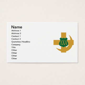 Lambda Chi Friendship Pin Business Card