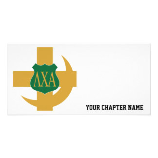 Lambda Chi Friendship Pin Card