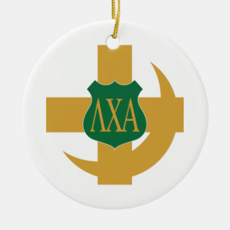 Lambda Chi Friendship Pin Christmas Ornament