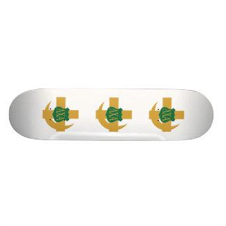 Lambda Chi Friendship Pin Custom Skate Board