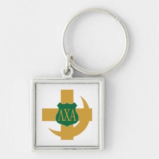 Lambda Chi Friendship Pin Key Ring