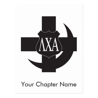 Lambda Chi Friendship Pin Postcard