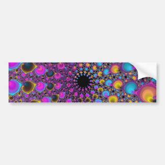 Lambda Fractal Spiral Bumper Sticker
