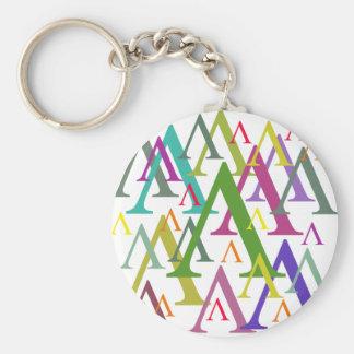 Lambda Key Ring