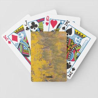 Lambert Hollow, aspen trees 2 Bicycle Playing Cards