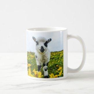 Lambie Basic White Mug