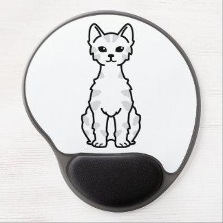 Lambkin Dwarf Cat Cartoon Gel Mouse Pad