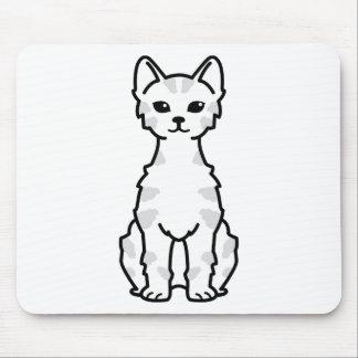 Lambkin Dwarf Cat Cartoon Mouse Pad