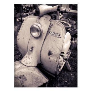 Lambretta 150 ld postcard