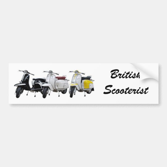 Lambretta bumper sticker