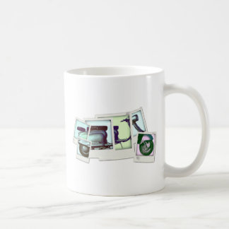 lambretta photo montage basic white mug