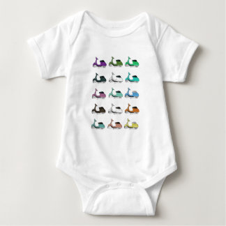 Lambretta Pop Art Baby Bodysuit