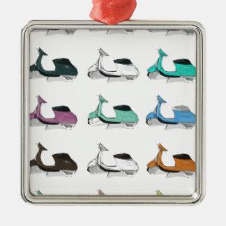 Lambretta Pop Art Christmas Ornament