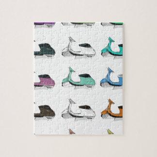 Lambretta Pop Art Jigsaw Puzzle