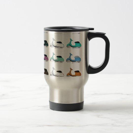 Lambretta Pop Art Travel Mug