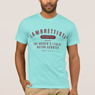 Lambrettista Blog Text Shirt