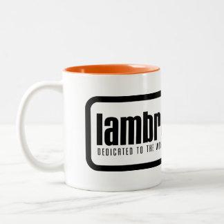 Lambrettista logo mug