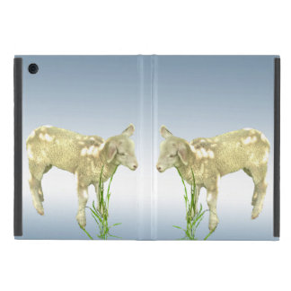 Lambs Grazing in Green Grass iPad Mini Case