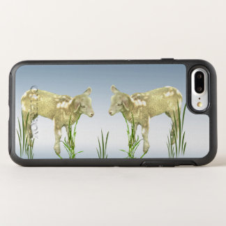 Lambs with Green Grass Farm Animal OtterBox Symmetry iPhone 8 Plus/7 Plus Case