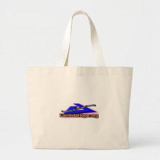 Lamda Hope Logo Jumbo Tote Bag
