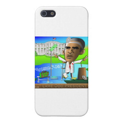 Lame Doc President iPhone 5 Cases