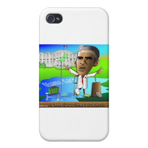 Lame Doc President Cover For iPhone 4
