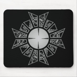 Lament star silver mouse mat