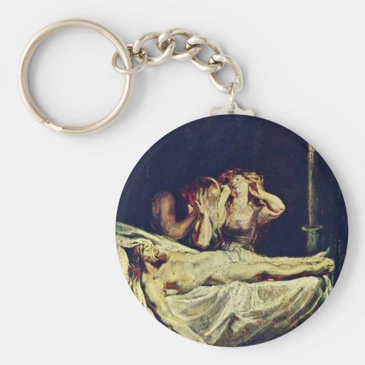 Lamentation By Rubens Peter Paul (Best Quality) Keychains