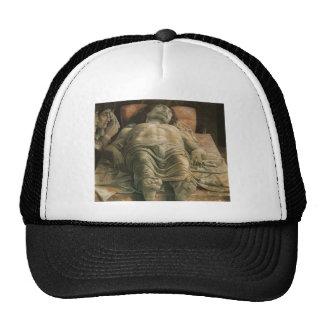 Lamentation of Christ by Andrea Mantegna Hats