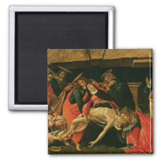 Lamentation of Christ. c.1490 Square Magnet