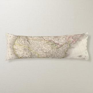 L'Amerique Septentrionale - North America Body Cushion