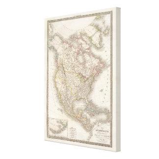 L'Amerique Septentrionale - North America Canvas Print