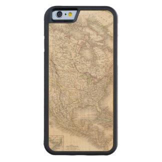 L'Amerique Septentrionale - North America Carved Maple iPhone 6 Bumper Case