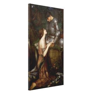 Lamia by John William Waterhouse Canvas Prints