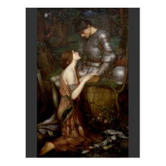 Lamia by John William Waterhouse Post Card