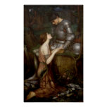 Lamia by John William Waterhouse Poster