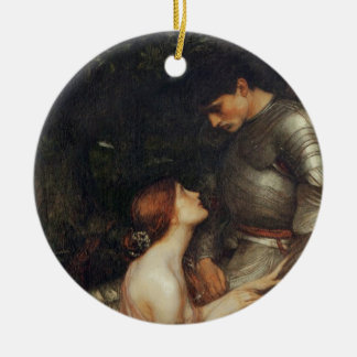 Lamia [John William Waterhouse] Christmas Ornament
