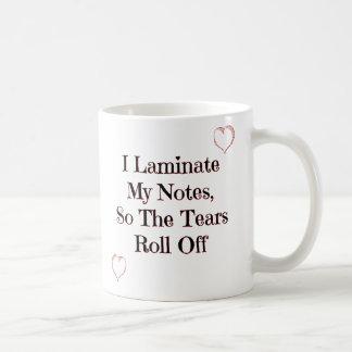 Laminate My Notes - Nursing Student Coffee Mug