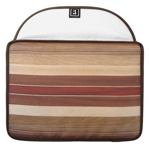 Laminated Wood Design Macbook Sleeve Sleeve For MacBooks