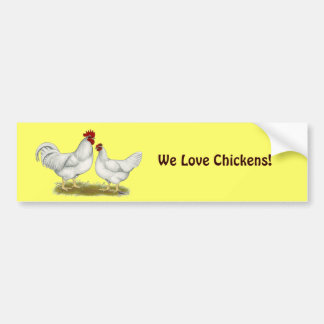 Lamona Chickens Bumper Stickers